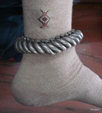 anklet ankle bracelet traditional jewellery vintage antique tribal old silver