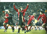 Neil Mellor Signed Liverpool 12 x 8 inch signed authentic football photo SS284
