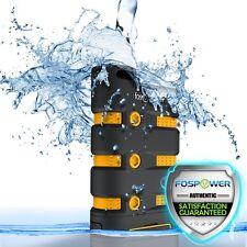 FosPower 10200mAh Heavy Duty Rugged Water IP67 Shockproof USB Power Bank Battery