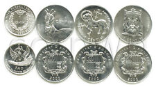 ANDORRA 4 COINS SET 1999 - 2002 (#797)