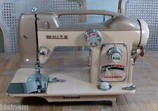 Vintage White 764 Sewing Machine an Atomic Age Classic Untested As-Is