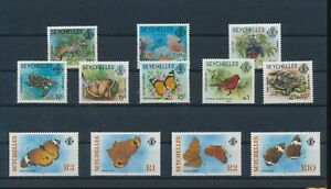 LO44323 Seychelles insects bugs flora butterflies fine lot MNH