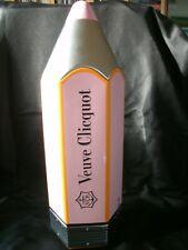 More details for veuve clicquot pencil rose champagne tin / cooler . free uk p+p ................