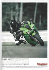 Un anuncio revista 2006 para el-Kawasaki ZX-6R Ninja-Supersport 600