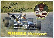 STEFAN BELLOF - orig. Autogramm - Formel 1 Pilot, Maurer-Motorsport