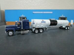 HO Scale 1/87 Custom Leaman Tank Lines Truck & Trailer Tonkin Athearn lot