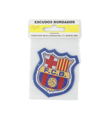 NOS Vtg 80s FC Barcelona Official Soccer Football Patch Embroidered Badge 2.25""