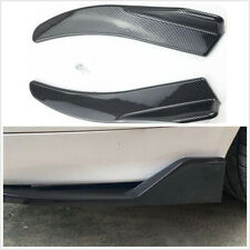 1 Pair Car Side Skirts Rear Bumper Spoiler Diffuser Rear Lip 44CM Polyurethane