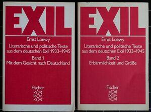 Ernst Loewy. EXIL. Literarische und politische Texte aus dem deutschen Exil.