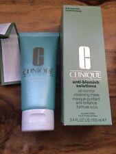 Clinique Anti-Blemish Solutions 100ml Oil Control Mask Women NEW In Original Box