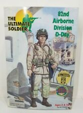 """The Ultimate Soldier """"82ND AIRBORNE DIVISION D-DAY"""" WWII Action Figure New"""