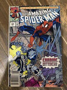 Amazing Spider-Man 359 Australian Price Variant 1st Cameo Carnage