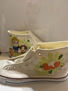 Custom Hetalia Convers Shoes Size 7 In Mens