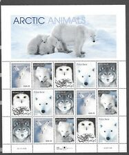 US Stamps SC# 3288-92 Arctic Animals sheet of fifteen 33c stamps MNH 1999