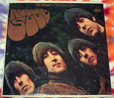 THE BEATLES Rubber Soul APPLE RECORDS 1971 Near Mint JOHN, PAUL, GEORGE, & RINGO
