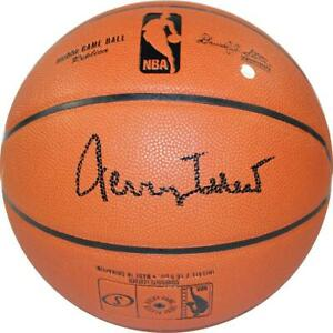 Jerry West Signed NBA I/O Basketball Steiner Sports Certified