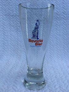 Altes dickwandiges Weizenbierglas Brauerei Bavaria Bier Aschaffenburg RAR TOP !!