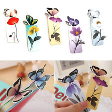 EG_ FJ- 10Pcs Bookmark Book Marker Paper Clips Stationery Reading _GG