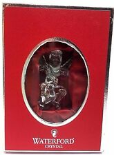 WATERFORD CRYSTAL ANGEL ORNAMENT 2004 w Original Box - Christmas Holiday Xmas