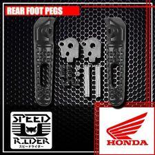 REAR BLACK FOOT PEGS PASSENGER SET KIT HONDA CBR600RR CBR1000RR CB1000R NEW