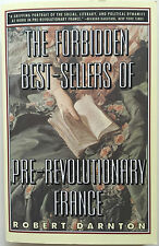 NEW The Forbidden Best-Sellers of Pre-Revolutionary France by Robert Darnton Pap