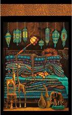 .6 Yard Quilt Cotton Fabric - Elizabeth's Studio Princess on a Pea African