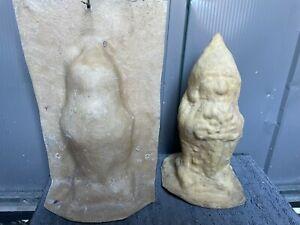 Garden ornament latex and fibreglass moulds Gate Keeper gnome / gargoyle (jerry)