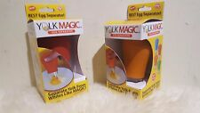 New Yolk Magic™ Egg Separator - As Seen On TV - 1 Orange and Red