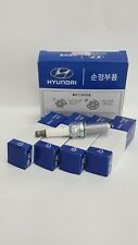 4 x Genuine Hyundai Spark Plug 18846-08071 K5, Carens, Sonata Made in Korea