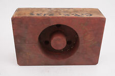 Red Box Wooden Industrial Wheel Foundry Mold Pattern Steampunk (IL1-M30)