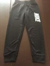 NWT Nike Boys Toddler Dri Fit Athletic Jogger Sweatpants Black Heather 2T $30