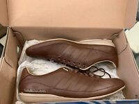 Brand New Adidas Porsche Typ 64 Brown Trainers UK 7