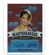 2019 Tricia Helfer Leaf Pop Century Signatures Heartbreakers H-TH Autograph Sign