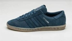 Adidas Originals RARE HAMBURG in MINERAL BLUE BB4992 MEN'S SIZE 7 / WOMEN'S 8.5