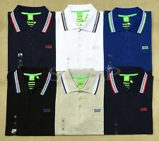 Hugo Boss paddy pro embroidered Men's Modern Fit Casual Cotton Polo Golf T-shirt