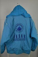 RARE ELLESSE SPORT Mens Ski Jacket IT 52 XL Blue Polyester Vintage BIG LOGO