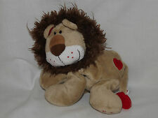 "Tesco Lion Wild About You On Foot Plush Soft Toy Teddy Approx 8"" Free Post (N)"