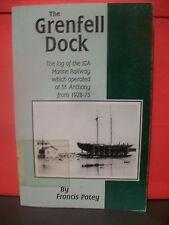 THE GRENFELL DOCK,THE LOG OF.. MARINE RAILWAY.. ST ANTHONY,NEWFOUNDLAND