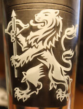 Abro Bryggeri Sweden Brewery original BeerGlass 0,4 -  Big Abro Logo
