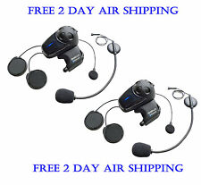 Sena SMH10D-11 Motorcycle Bluetooth Headset Intercom DUAL Pack