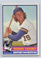 1976  ROBIN YOUNT - Topps Baseball Card # 316 - MILWAUKEE BREWERS
