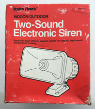 NEW Radio Shack INDOOR/OUTDOOR 49-525A Two-Sound Electronic Siren Alarm Horn
