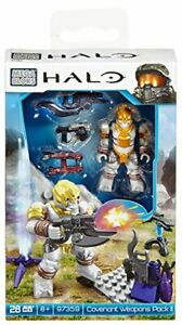 MEGA BLOKS HALO COVENANT WEAPONS PACK II 28 PIECES 97359 8+ BRAN NEW
