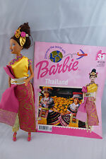 Discover the World With Barbie - Doll, Costume & Magazine - Thailand