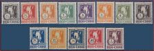 1922 INDOCHINE Taxe N°31/43* TB Série, FRENCH INDOCHINA Postage Due j31-J43 MH