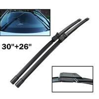 2Pcs Front Windscreen Wiper Blades Set For Citroen C4 MK2 DS4 Peugeot 308 408