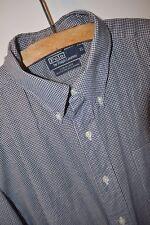 Ralph Lauren Blake slim fit grey check shirt size XL casual mod