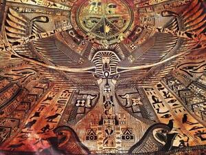 Egyptian Map Tapestry