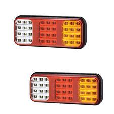 LED Anhänger Lampe Paar 12-24V Wohnwagen Van Auto BREMS HECK BLINKER Reverse