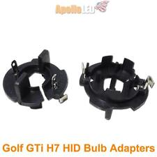2pcs H7 HID Bulb Adapters Holders For Volkswagen MK5 GTi Golf Jetta #AT4